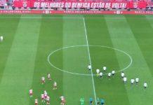 SL Benfica x FK Spartak Moscovo