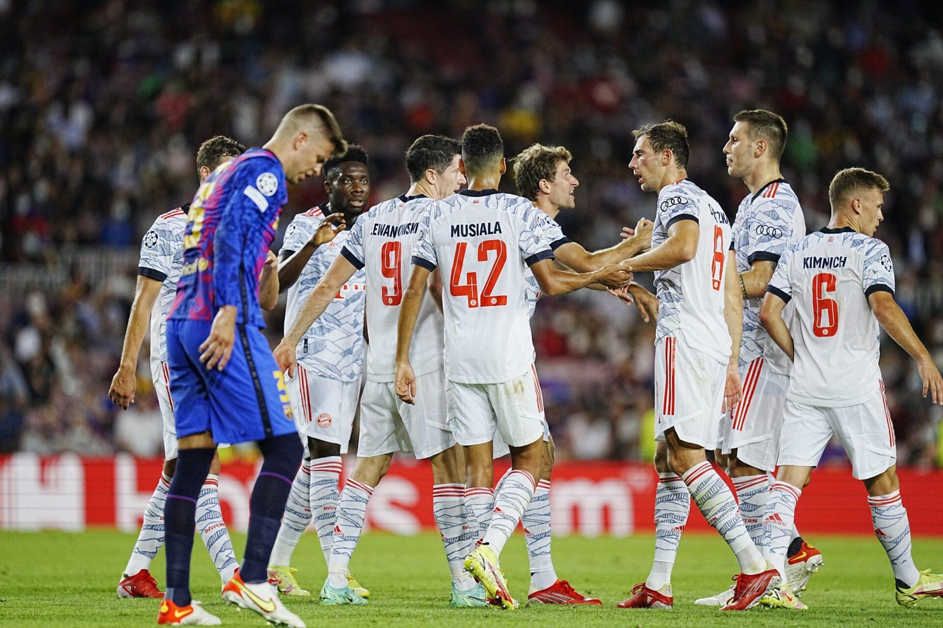 FC Barcelona x FC Bayern