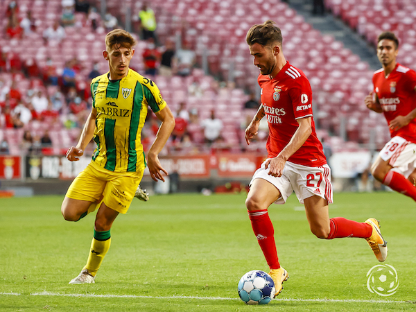 Rafa tem sido o elemento mais preponderante do ataque do SL Benfica