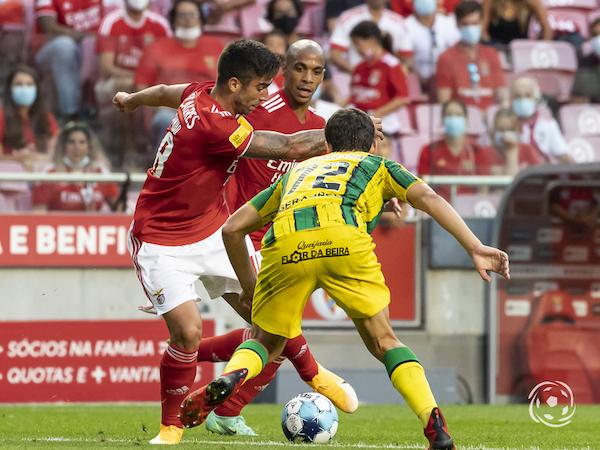 Rodrigo Pinho soma já um golo pelo SL Benfica