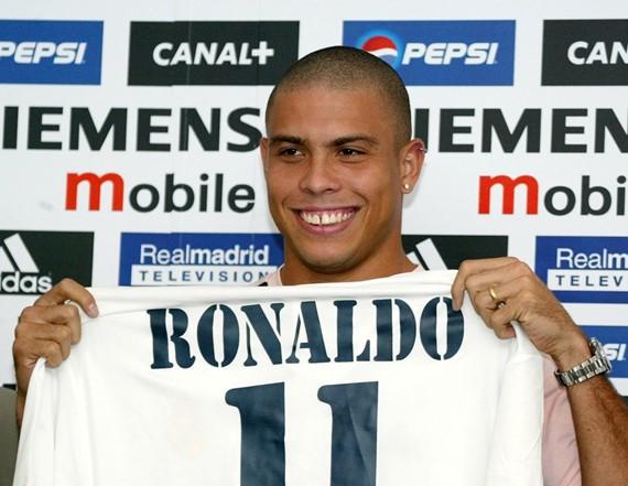 Ronaldo foi uma das maiores transferências de sempre no último dia