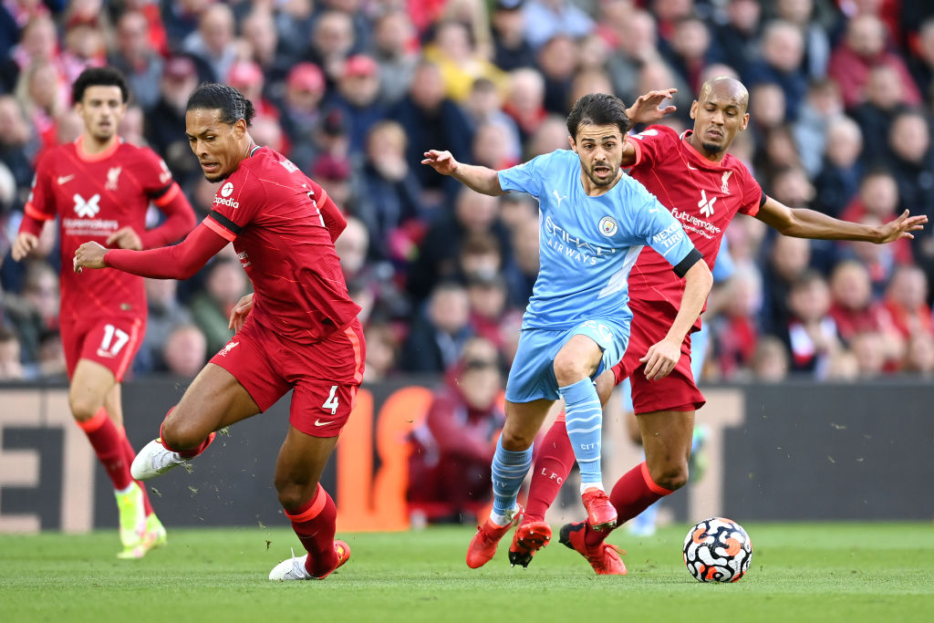 Liverpool x Man City