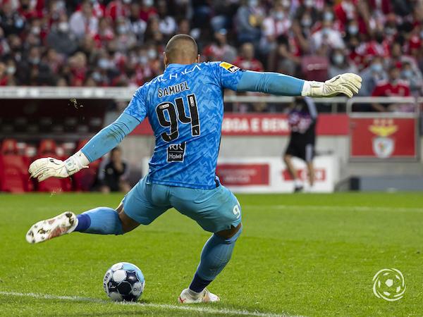 Samuel Portugal foi o principal culpado pela primeira derrota do SL Benfica