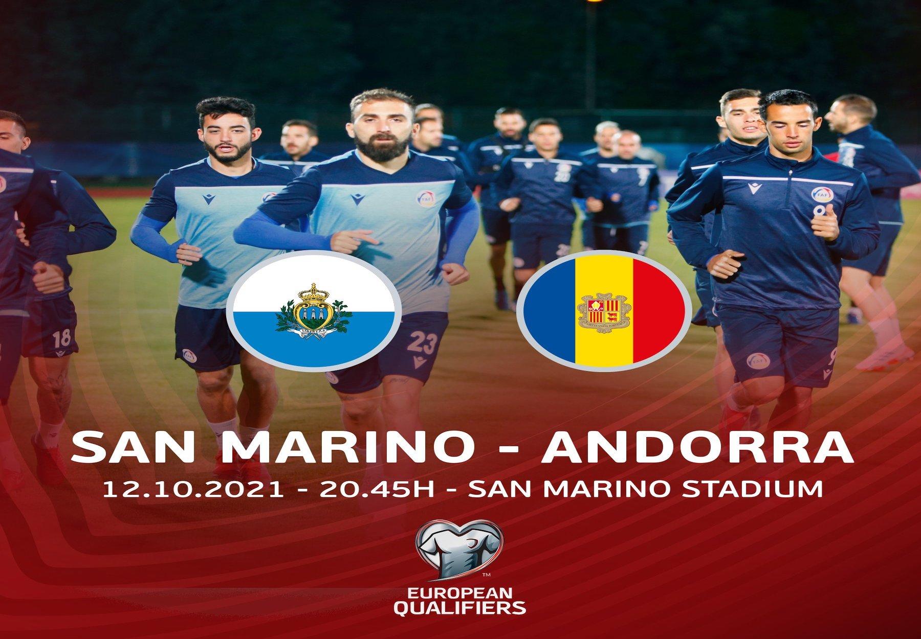 São Marino x Andorra